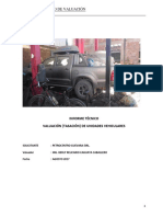 modelo de tasacion vehicular