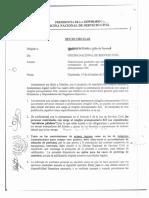 Oficio Circular ONSEC Disposiciones Para La Contratación de Personal 022 Guatemala