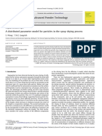 A distributed parameter model for particles in the spray drying process.pdf