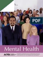 focus on mental health booklet