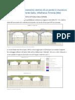Progetto Di Miglioramento Sismico Di Un Ponte in Muratura a Villafranca Tirrenia Curreri J11s