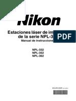 Manual Usuario Estacion Total Nikon Serie NPL-302.pdf