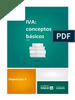LECTURA 1. IVA Conceptos Basicos