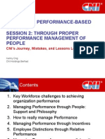 Creating Performance Based Culture