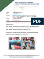 Informe para Corrección de Tubería de Succión