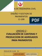 2.0 Clase 2 Pavimentos Canteras