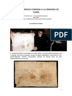 Estudio Forense a La Sindone de Turin