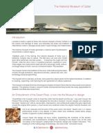 QAI Qatar National Museum Fact Sheet