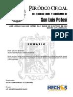 Norma Tecnica Ecologica NTE SLP AR 001 05