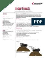 Maxtorque Worm Gear Products