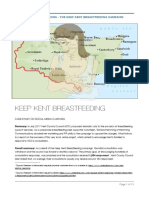 Hemming Communications presents the Keep Kent Breastfeeding campaign
