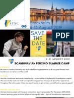 Scandinavian Fencing Camp