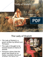 The Lady of Shalott-Tennyson