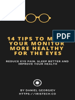 14 Tips to Make Your Monitor More Healthy for the Eyes