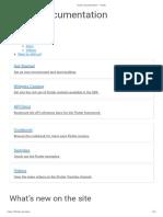 Flutter Documentation - Flutter