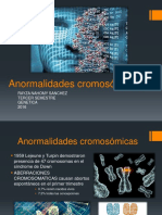 ANORMALIDADES CROMOSOMICAS