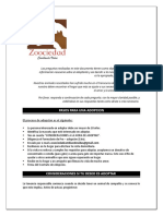 Formato de Adopción Zoociedad