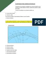 AutoCAD - RUEDAS DENTADAS PARA CADENAS DE RODILLOS