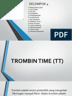Thrombin Time
