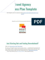 Free Travel Agency Business Plan Template