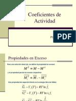 Coeficientes de Actividad 2016