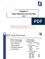 Chapter 9 Topic Detection and Tracking
