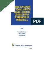 MANUAL DE APLICACIÓN  DE TÉCNICAS GEOFÍSICAS  BASADAS EN ONDAS DE  SUPERFICIE PARA LA  DETERMINACIÓN DEL  PARÁMETRO VS30
