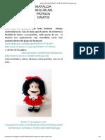 Mafalda Amigurumi.. Patron Gratis _ Amigurumis