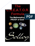 The Creator Formula - The Proof of God! (Sample)