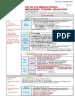 026 Prévention des risques foetaux  infection, médicaments, toxiques, irradiation