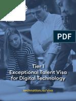 exceptional talent visa for digital technology