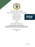 Contabilidad Basica Programa Analitico