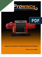 Prowinch Huinche Electrico Manual Huinches Series Pwkdj 613712