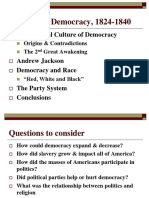 Ch 11 Rise of Democracy