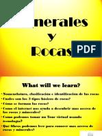 Clase 2 Rocas y Minerales