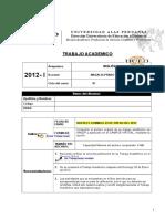 Trabajo Academico de Inglés III-2012-1
