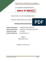 Practicas Preprofecionales III Modulo Yakely Maza- Administracion