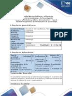 Guía de actividades y rúbrica de evaluación Fase 2 Realizar diagnóstico de necesidades de aprendizaje.pdf