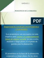 Importancia Del Pronostico Ycaracteristicas Que Definen La Demanda