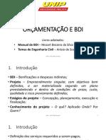 Engenharia Interdiciplinar - BDI