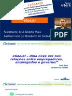 ESocial - José Alberto Maia - CONAPDP