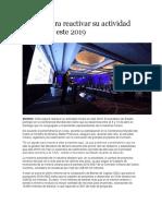 Chile Espera Reactivar Su Actividad Minera en Este 2019