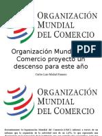 Carlos Luis Michel Fumero - Organización Mundial Del Comercio Proyectó Un Descenso Para EsteAño