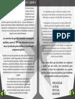 Panfleto CPL3 Preto e Branco