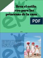 EPK - EPK lleva el estilo playero para las princesas de lacasa.pptx