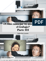 Danilo Díaz Granados - ¿Cómo Manejar Tu Ansiedad en El Trabajo?, Parte III
