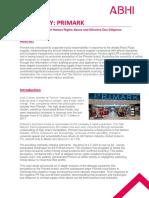Seminar Primark Case Study