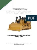 1Propuesta de SCL Tractor CAT D8T2