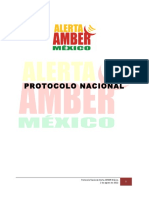 Protocolo Nacional Alerta AMBER