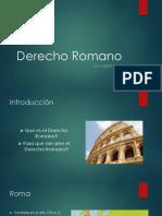 Clase Derecho Romano